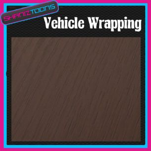 "2M X 1370mm (52"")  VEHICLE CAR WRAPPING WRAP DECO WOOD EFFECT NEW 2012 - 160720974797"